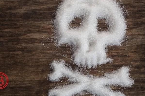 Totenkopf aus Zucker